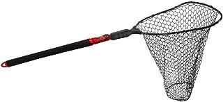 Ego S2 Slider Deep Rubber Mesh Landing Net, Large/22-Inch, Black/Red