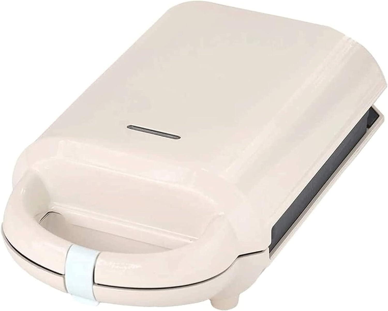 KISAD Máquina de Desayuno Multifuncional Tablero Recubierto de 3 Minutos del Fabricante de Desayuno y Control automático de Control de Temperatura. Diseño Compacto fácil de Limpiar (Color : White)