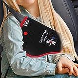 Gaspard and Lisa seat Belt Adjuster for Kids, seat Belt Adjuster, Baby Belt,Seatbelt Cover,seat Belt Buckle Holder,car seat Belt Cover Black
