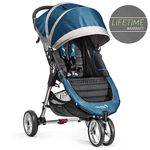 Baby Jogger City Mini Stroller in Teal, Gray Frame, BJ11429