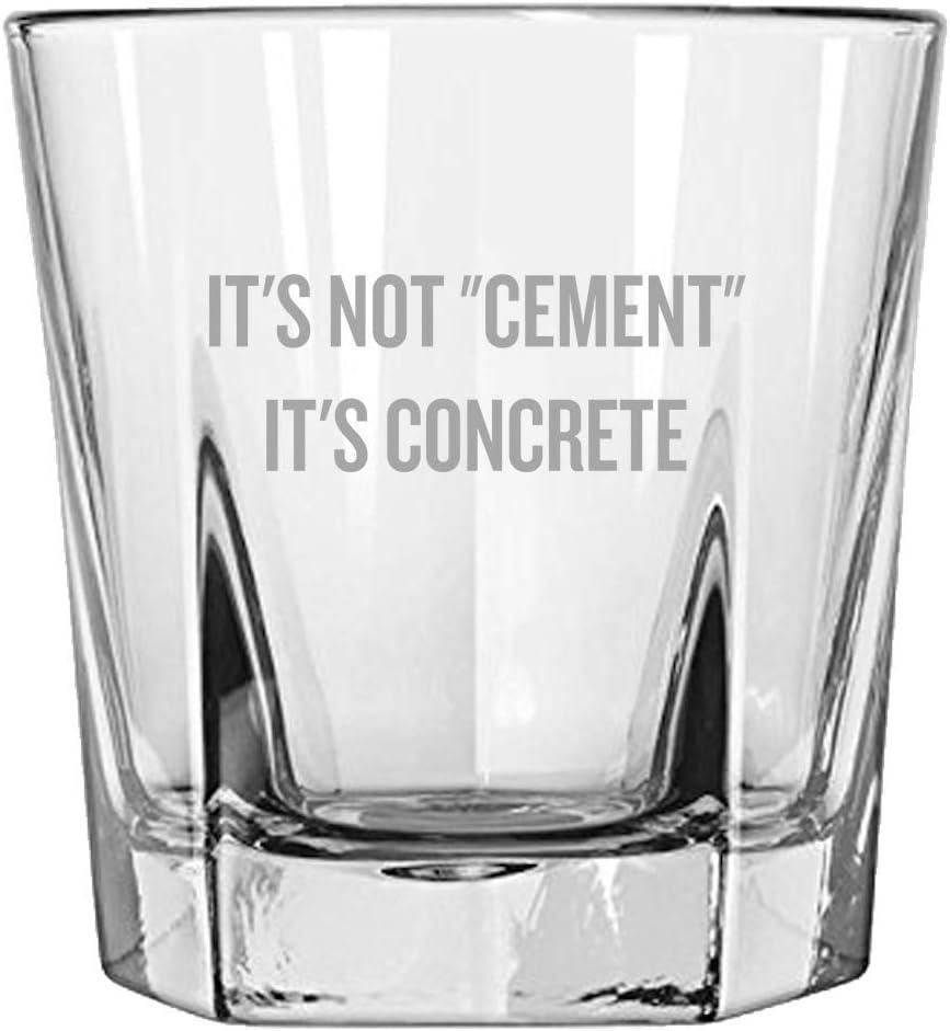 Civil Engineer Gift - Rocks Deluxe Glass Cheap bargain Ceme Not It's