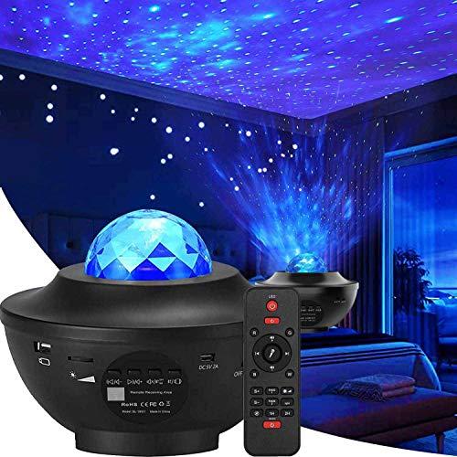 Elecstars Lámpara LED de iluminación nocturna ilumina tu dormitorio con esta luna, estrella, cielo romántico, el mejor regalo para...