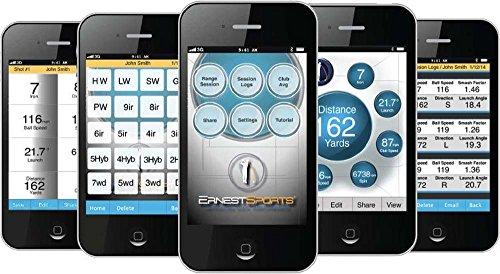 Ernest Sports 14 - ES14 - Golf Launch Monitor - schwarz - 2