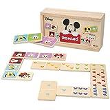 Disney - Domino madera infantil Juego de mesa para niños 2 3 4 años - Juegos de memoria Juegos...