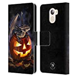 Official Anne Stokes Trick Or Treat Dragons 5 Leather Book