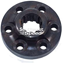 NEW DIRECT DRIVE COUPLER,FITS SMALL BLOCK FORD,FOR BERT ALUMINUM AND MAGNESIUM TRANSMISSIONS FOR MODIFIED, LATE MODEL, AND STREET STOCK RACING, 7-F, TRANNY, IMCA, UMP, USMTS, ETC