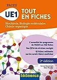 PACES - UE1 Tout en fiches - Biochimie, Biologie moléculaire, Chimie organique - Format Kindle - 14,99 €