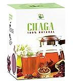 Chaga Mushroom Tea (20 Tea Bags) - 100% Wild Harvested Chaga, Herbal Tea Premium Antioxidant...