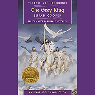 The Grey King audiobook cover art