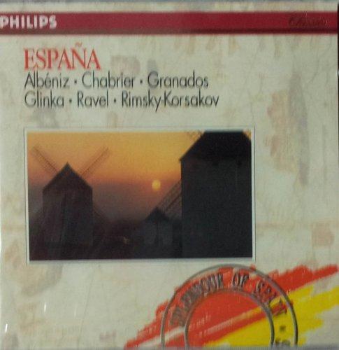 Chabrier-Espana-Ravel-Bolero-Granados-Danses Espa-Markevitch