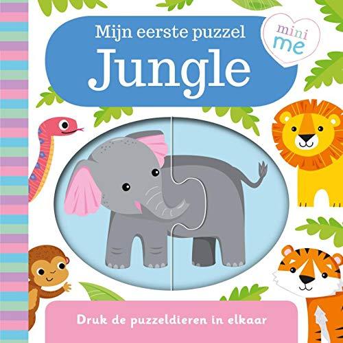 Jungle-Mijn eerste puzzel: Druk de puzzeldieren in elkaar