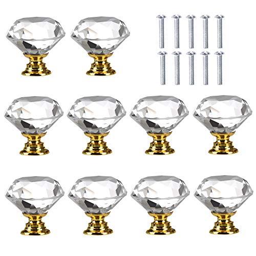 kommode gold glas