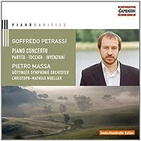 Petrassi: Piano Concerto by Pietro Massa (2014-03-25)