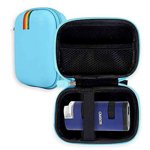 Leayjeen Microscope Case Compatible with Carson Pocket Micro 20x-60x LED Lighted Zoom Field Microscope (Case Only)