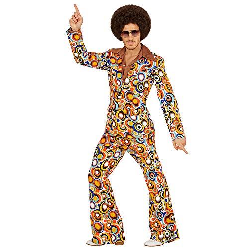 WIDMANN Disfraz de adultos, traje de los años 70