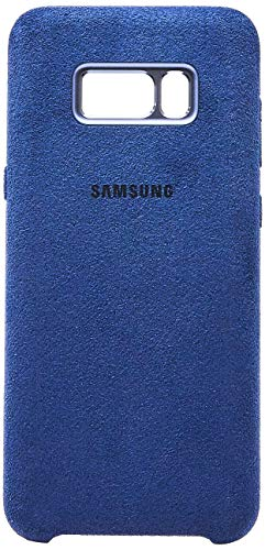 Capa Protetora Alcntara para Galaxy S8 Plus, Samsung, Capa Protetora para Celular, Azul