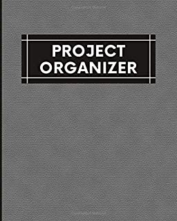Project Organizer: Prepare And Track Your Project Efficiently. Project Management Planner