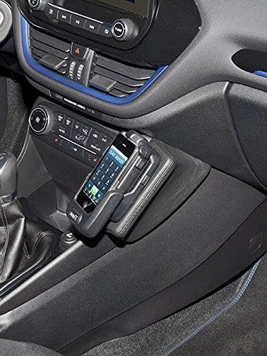 KUDA 2995 Halterung Kunstleder schwarz für Ford Fiesta (8. Gen.) ab 07/2017