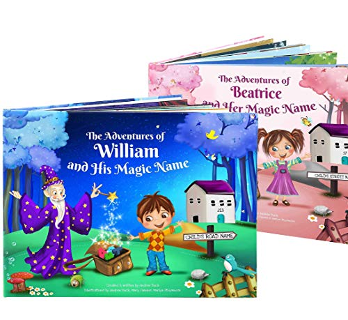 1st Birthday Gift - A Personalized Story Book for Young Children - Custom Name Book for Kids, Clever Magic Book