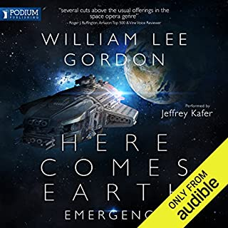 Here Comes Earth audiobook cover art