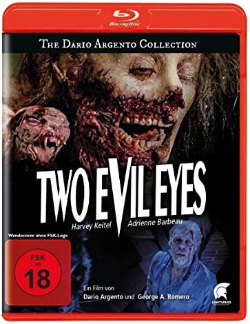 Two Evil Eyes Due occhi diabolici Blu Ray Reg A B C Import Germany product image