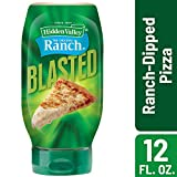 Hidden Valley Gluten Free Ranch Blasted Creamy Dipping Sauce, Ranch-Dipped-Pizza, 12 Ounce