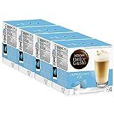 Nescafé Dolce Gusto Cappuccino Ice, Lot de 4, 4 x 16 Capsules (32 portions)