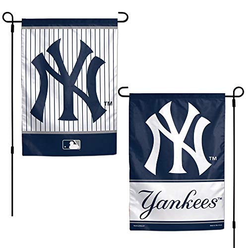 Wincraft MLB New York Yankees Gartenflagge 30,5 x 45,7 cm, zweiseitig, Einheitsgröße, Teamfarbe