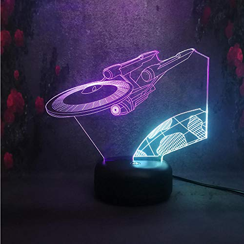 3D Illusionslampe LED Nachtlicht Lava Lampe Kreative Star Wars dekorative Glühbirne für zu Hause Schlafzimmer Kinder Geschenk Lampe Luminaria Multicolor