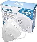 Mund und Nasenschutz [20x] FFP2 Maske - DEKRA geprüfte Mundschutz Maske einweg Atemmaske, Maske EINZELVERPACKT, Maske FFP2 Mundschutz Schutzmasken FFP2 - Mund und Nasenschutz