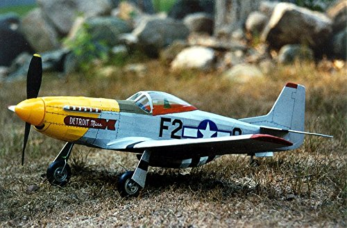 Guillow's P51 Mustang Laser Cut Model Kit