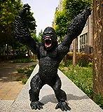 RHJJIPSD Actionfigur,46 cm X 31 cm King Kong Schädel Gorilla AFFE Charakter Modell Kind Spielzeug