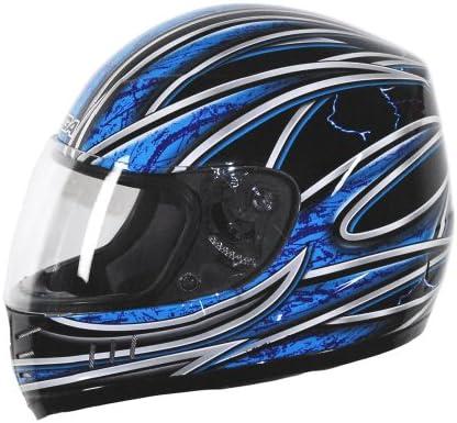 Vega Trak Full Face Karting Helmet with Universe Graphic Blue X Large product image