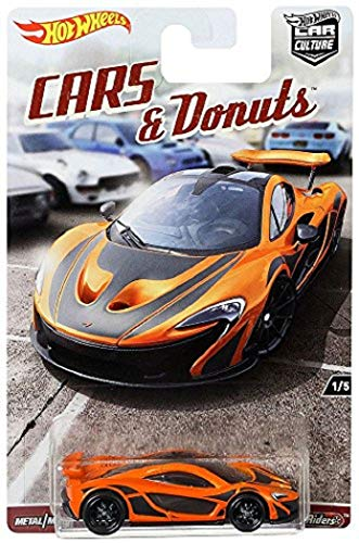Hot Wheels Mattel Car Culture Cars & Donuts McLAREN P1 1/5