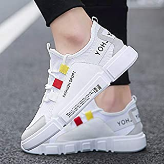 Inklenzo Shoe for Men Shoes Man Casual for Exercise Training Sports Running Sneakers Gym wear Daily use Party Fashion Mens Walking