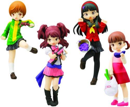 Persona 4 P4 Half-Age Characters PVC Trading Figurines (1 Random Blind Box)