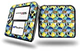 Tropical Fish 01 Seafoam Green - Decal Style Vinyl Skin fits Nintendo 2DS - 2DS NOT INCLUDED
