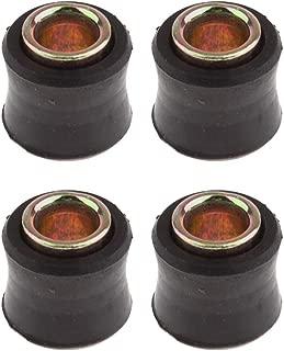 Qiilu 1//4 6mm Filtro de combustible lavable en l/ínea de la motocicleta Pit Dirt Bike Gasolina Rojo