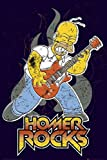 1art1 43552 Die Simpsons - Lets Rock Poster 91 x 6