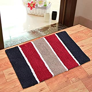 Home FURNISHINGS Pure Cotton Anti Skid DOORMATS of Size 20inch x 30inch