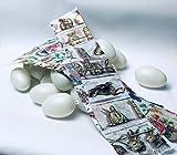ukrainisches-kunsthandwerk Set de Manualidades de artesanía ucraniana con 28 Huevos y láminas de Huevos de Pascua a Juego.