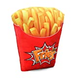 Oh My Pop! Fries Almohada de Viaje, 33 cm, Amarillo