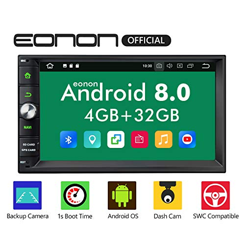 Double Din Car Stereo DVD Player,Android Car Stereo,Android 8.0 Car Stereo Radio 4GB+32GB with GPS...