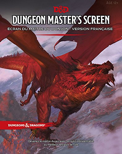 Dungeon Master's Screen - Ecran du maître du Donjon - Version Française