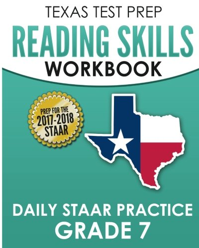 Compare Textbook Prices for TEXAS TEST PREP Reading Skills Workbook Daily STAAR Practice Grade 7: Preparation for the STAAR Reading Assessment  ISBN 9781974541591 by Test Master Press Texas
