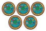 Gemelolandia Pack 5 Pins de Solapa Operación Balmis 2020 Legion Española