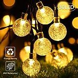 Catena Luminosa Solare,OxyLED 30 LED Ghirlanda LED Energia Solare,22 FT LED Stringa Estern...