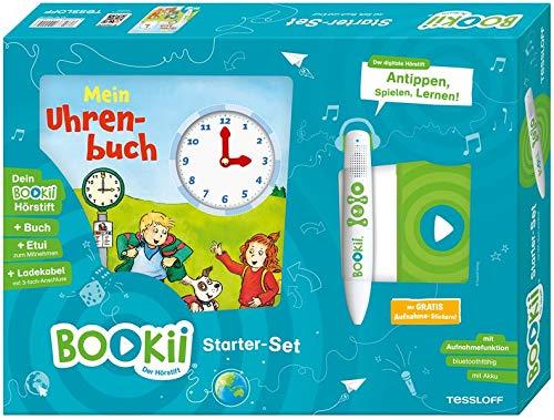 BOOKii® Starterset Mein Uhrenbuch: BOOKii® Der Hörstift mit Aufnahmefunktion und BOOKii® Buch Mein Uhrenbuch (BOOKii / Antippen, Spielen, Lernen)