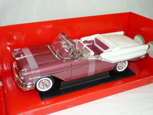 Oldsmobile Super 88 1957 Cabrio Pink Weiss Oldtimer 1/18 Yatming Modellauto Modell Auto