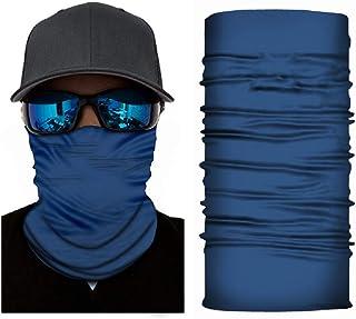 Nethaniah Seamless Face Mask Bandanas for Women Men for Dust, Outdoors, Festivals, Sports